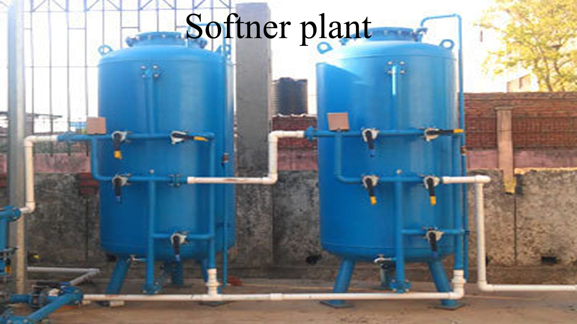 hard water softener for house