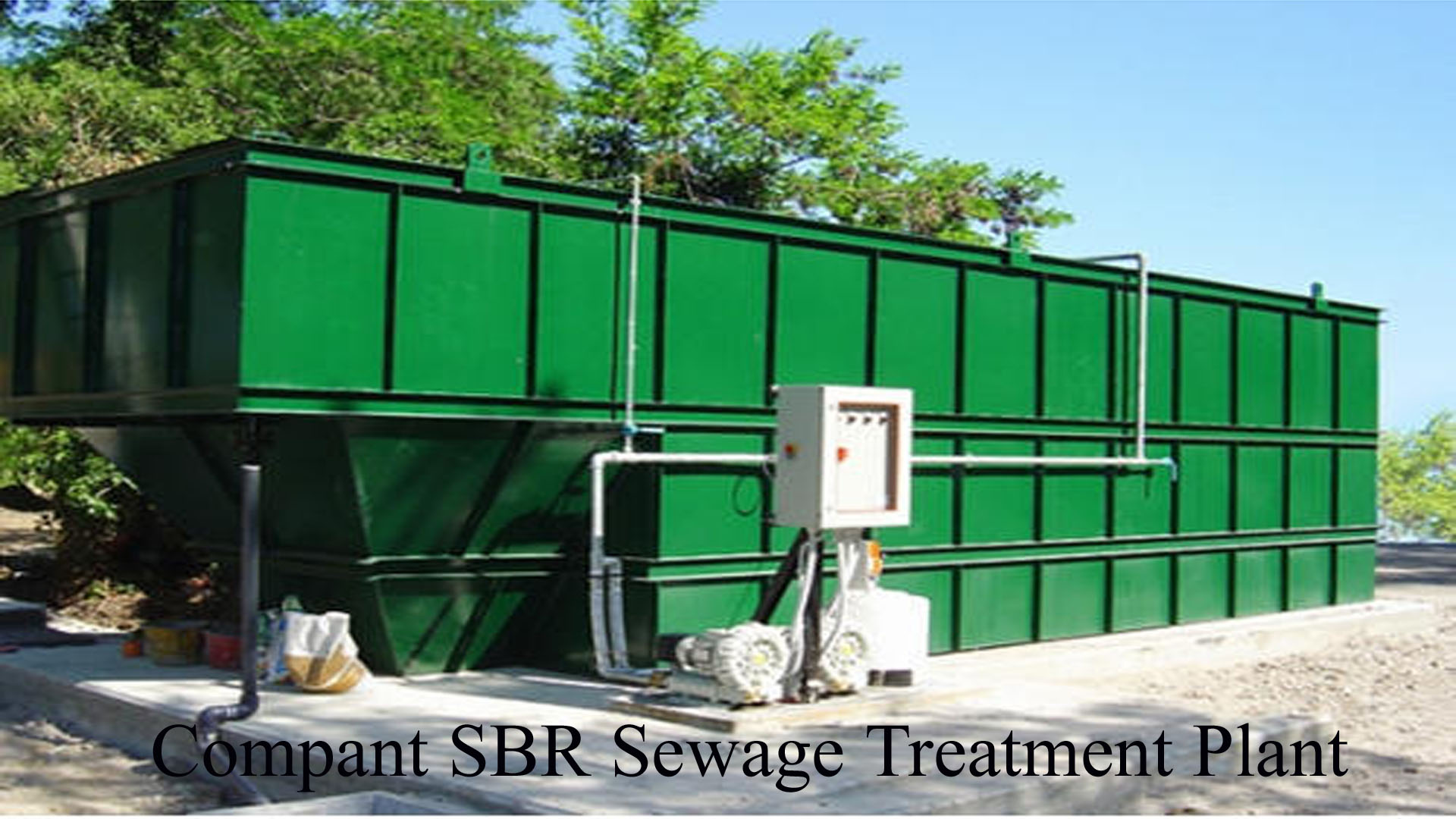 sbr package sewage treatment plant