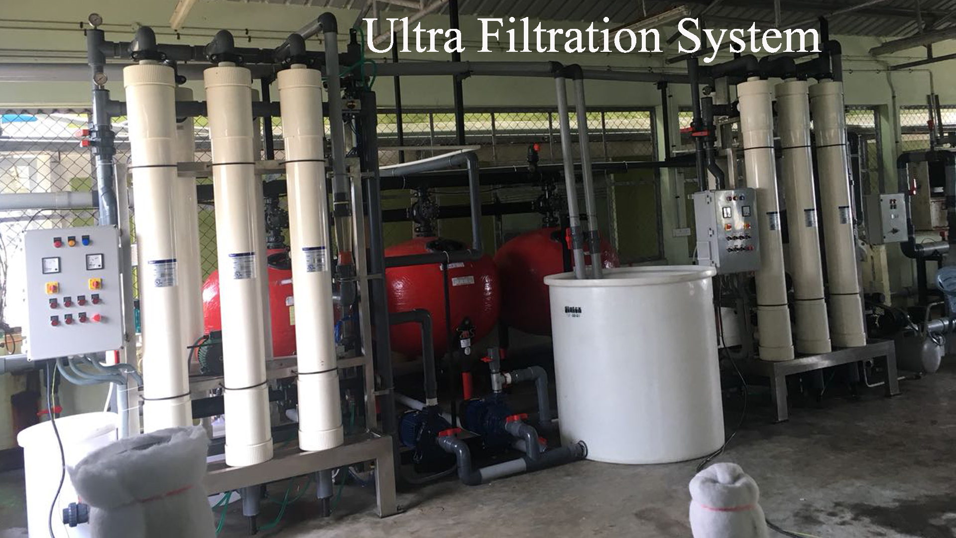 uf ro plant ultrafiltration system